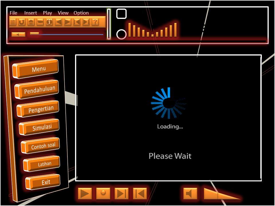 Menu Pendahuluan Pengertian Simulasi Contoh soal Latihan Exit