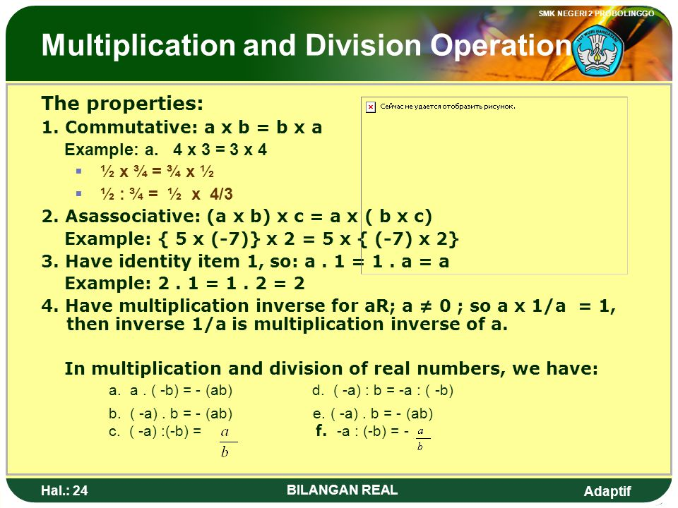 Multiplication and Division Operation