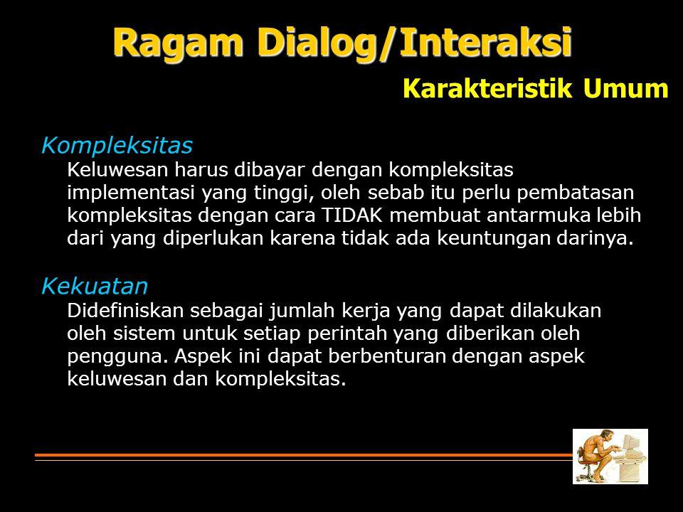Ragam Dialog/Interaksi