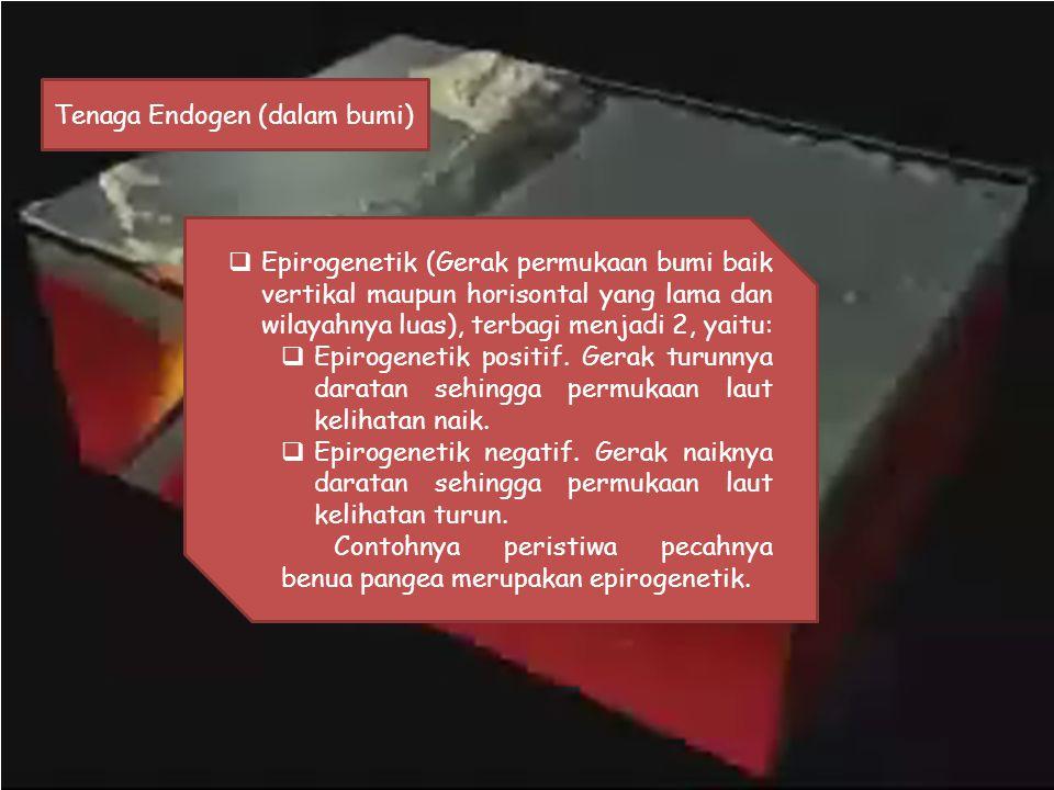 Tenaga Endogen (dalam bumi)