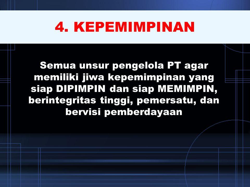 4. KEPEMIMPINAN