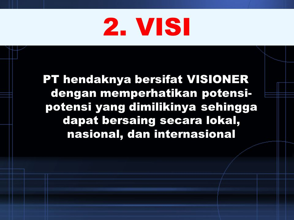 2. VISI
