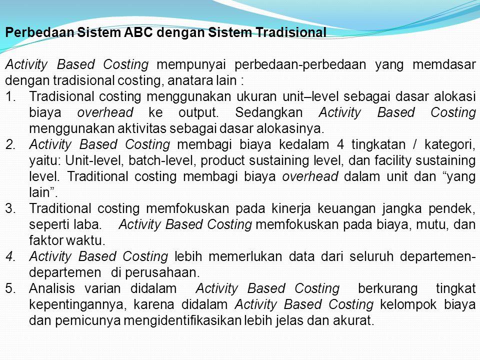 Perbedaan Sistem ABC dengan Sistem Tradisional
