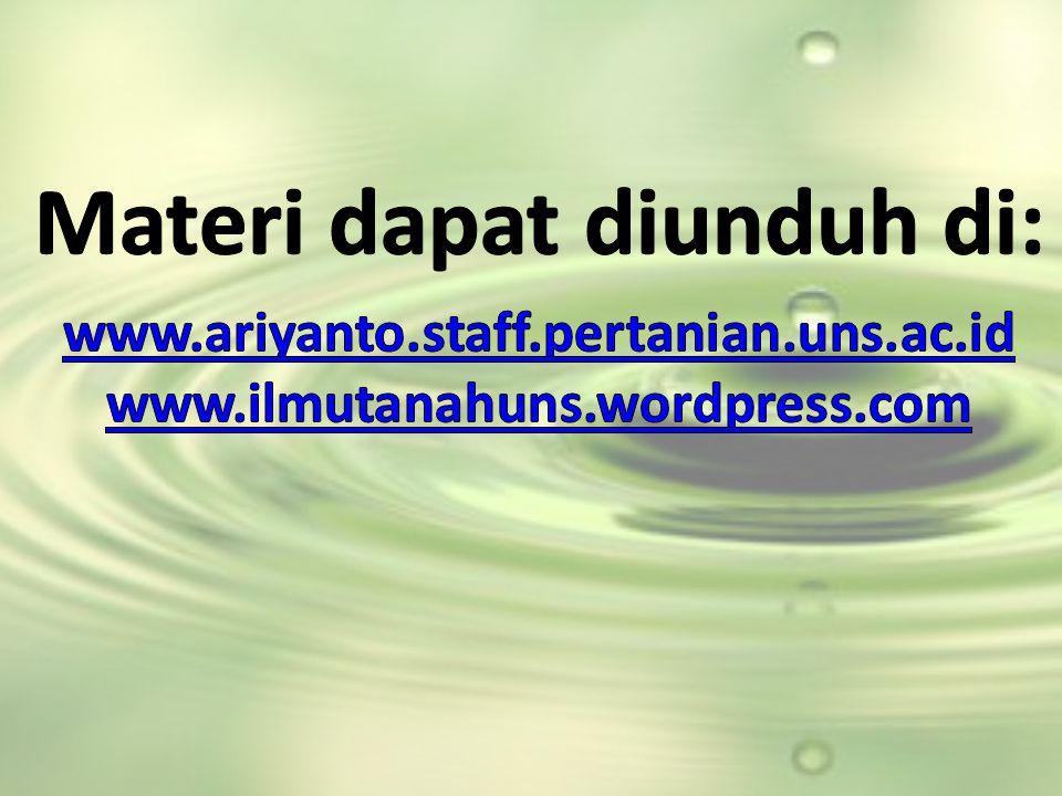 Materi dapat diunduh di: