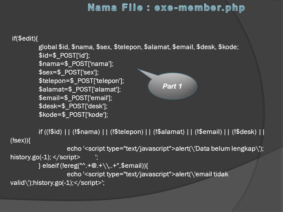 Nama File : exe-member.php