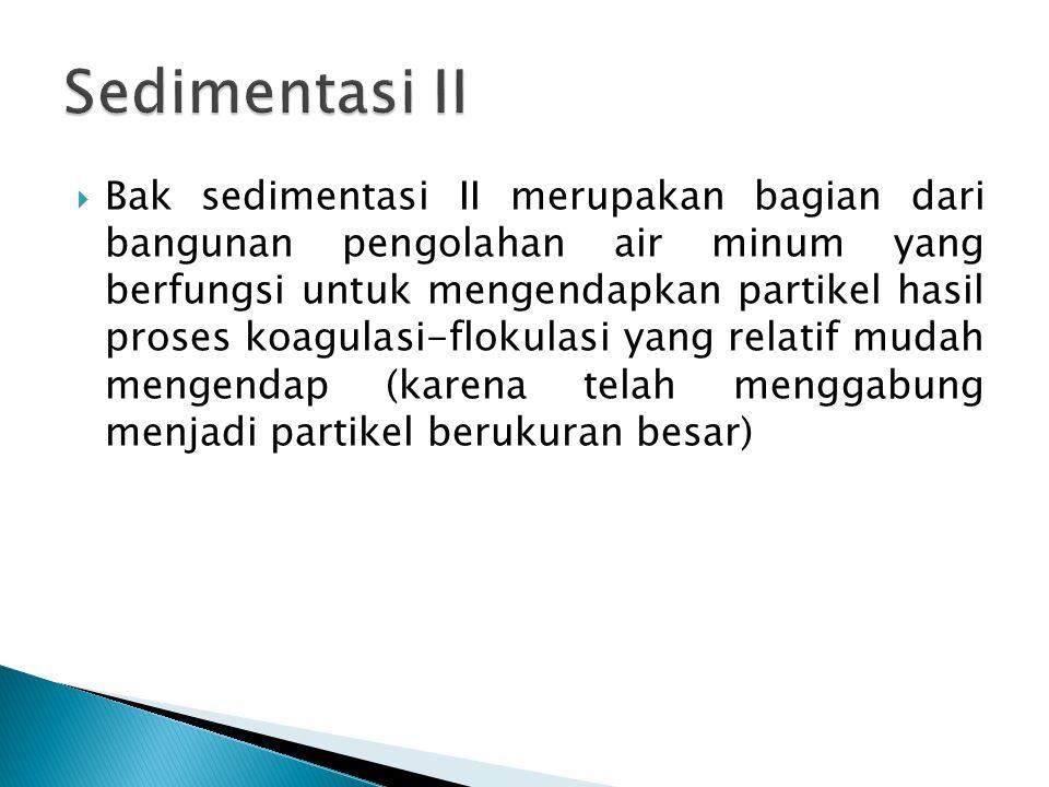 Sedimentasi II