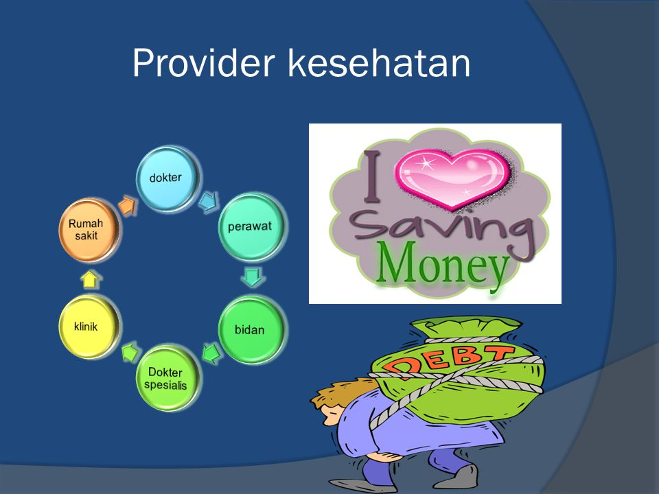 Provider kesehatan dokter perawat bidan Dokter spesialis klinik