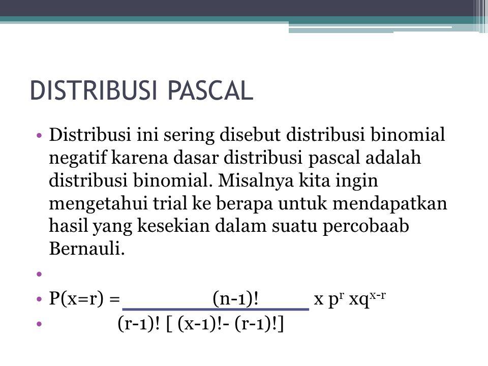 DISTRIBUSI PASCAL