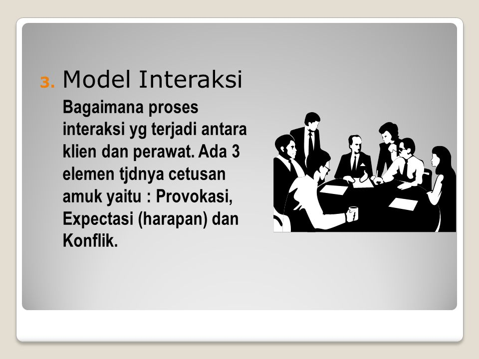 Model Interaksi