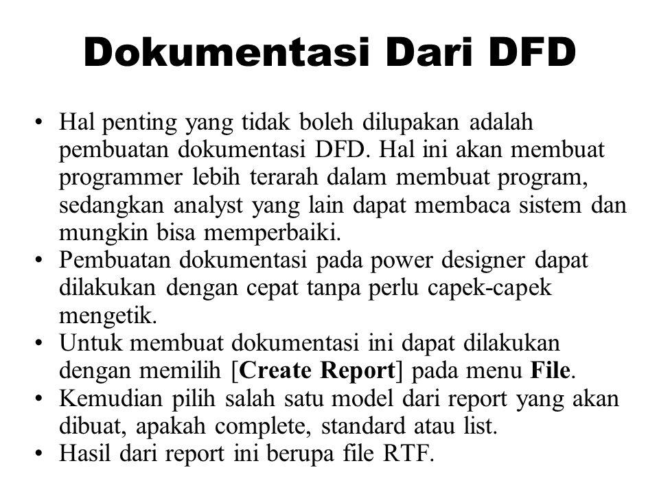 Dokumentasi Dari DFD