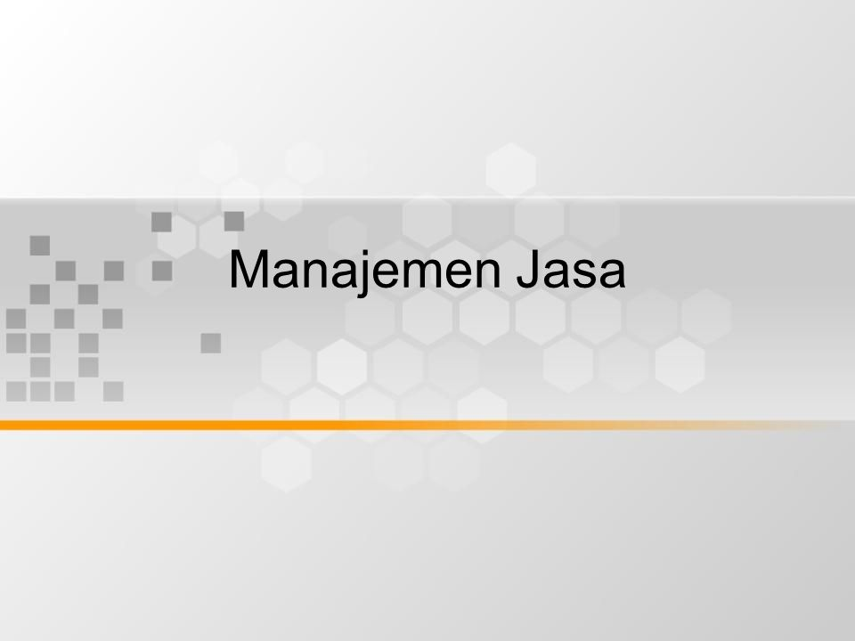 Manajemen Jasa