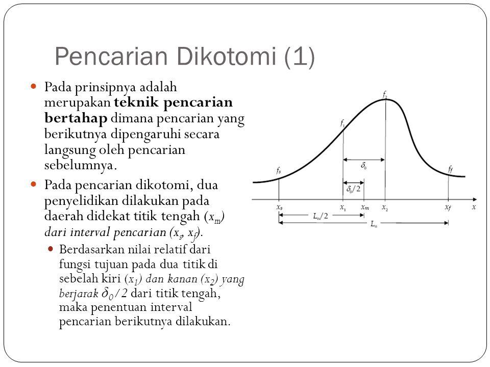 Pencarian Dikotomi (1)