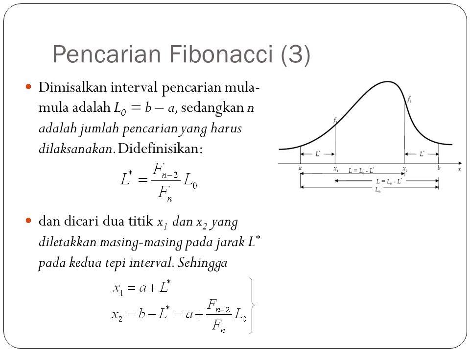 Pencarian Fibonacci (3)
