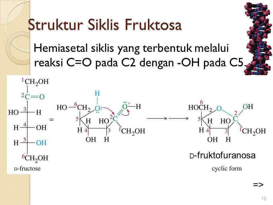 Struktur Siklis Fruktosa