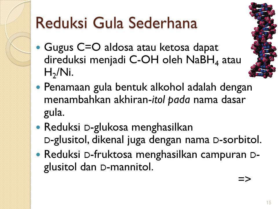 Reduksi Gula Sederhana