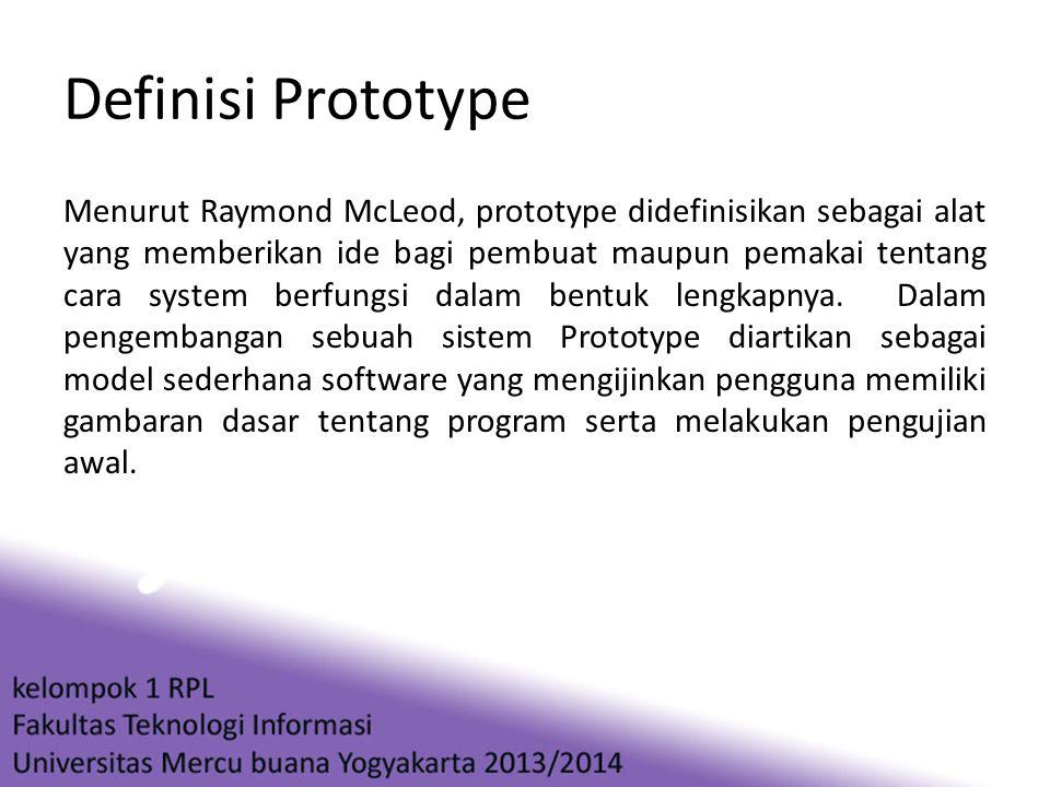 Definisi Prototype