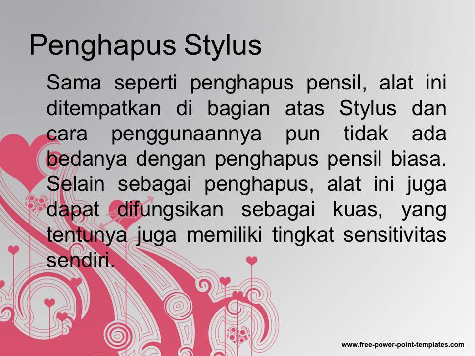 Penghapus Stylus
