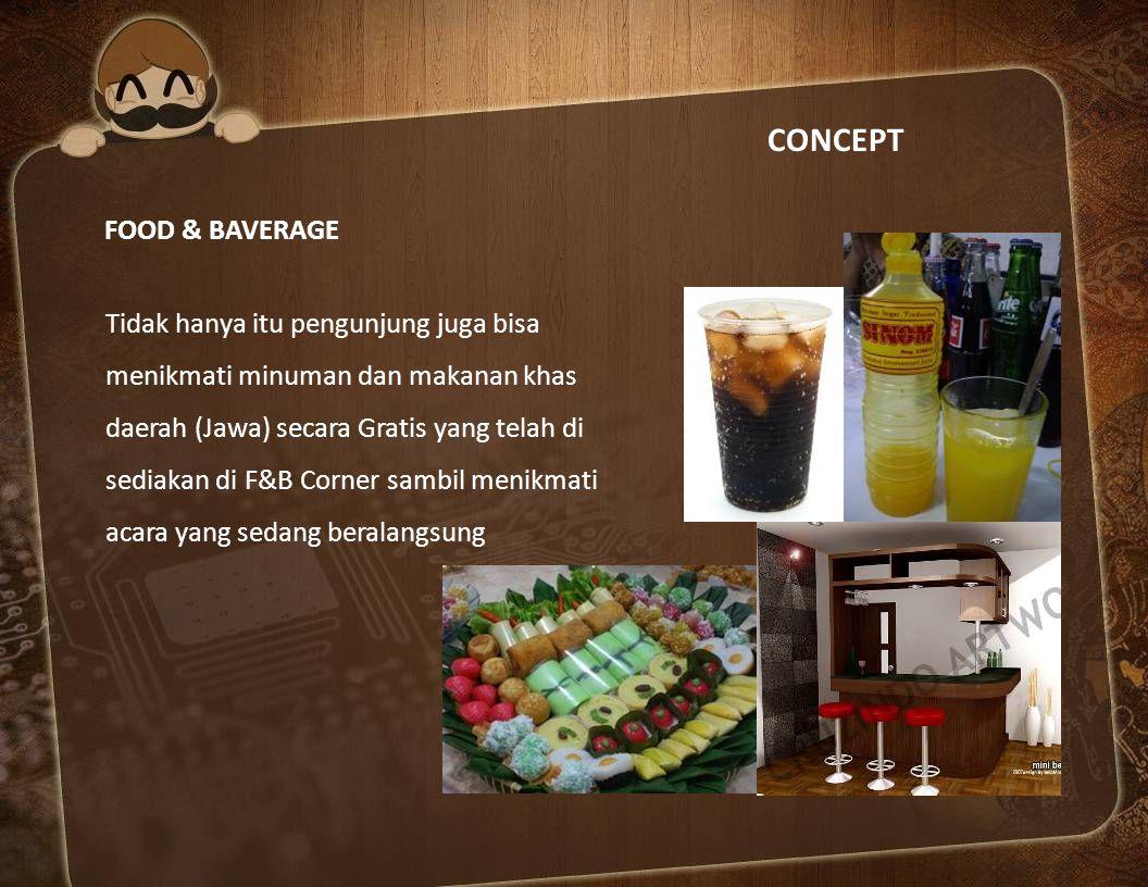 CONCEPT FOOD & BAVERAGE