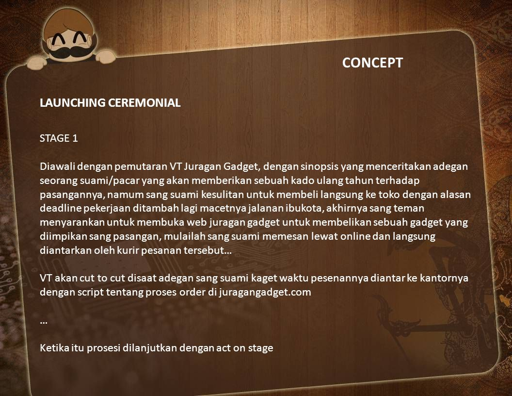 CONCEPT LAUNCHING CEREMONIAL STAGE 1