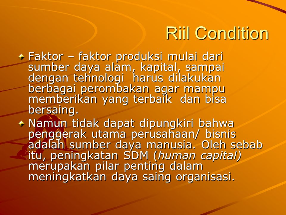Riil Condition