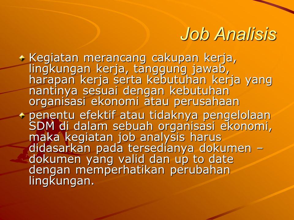 Job Analisis