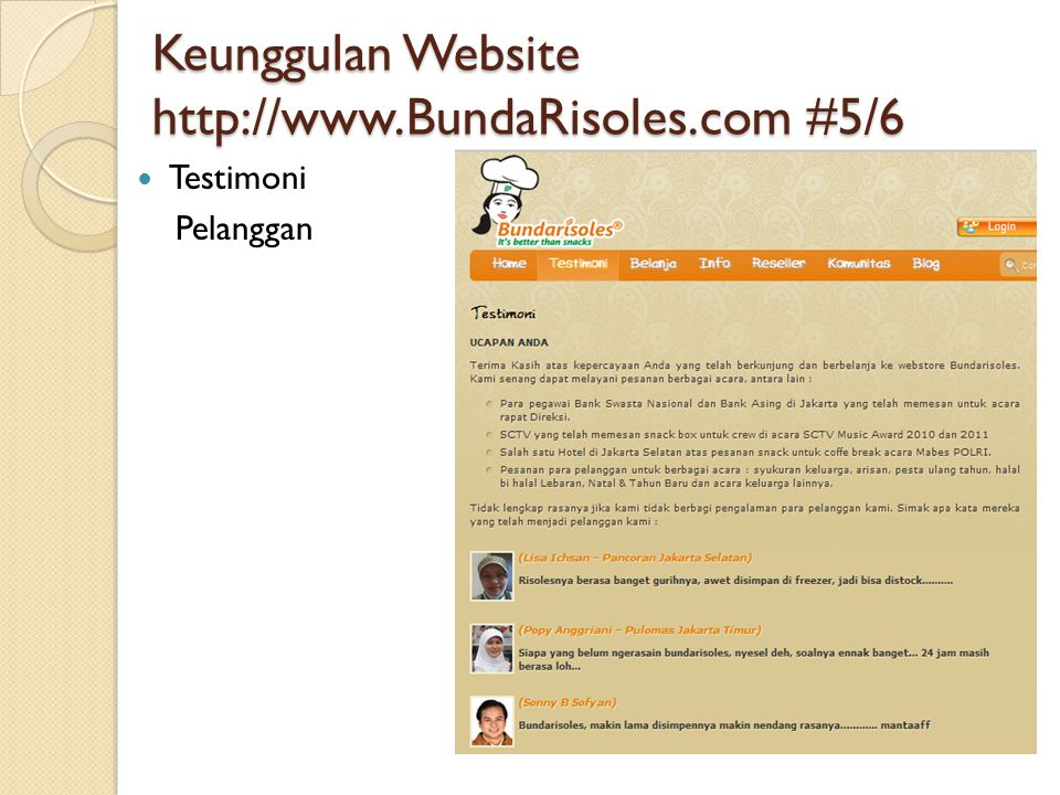 Keunggulan Website   #5/6