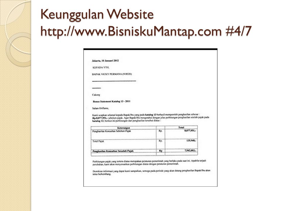Keunggulan Website   #4/7