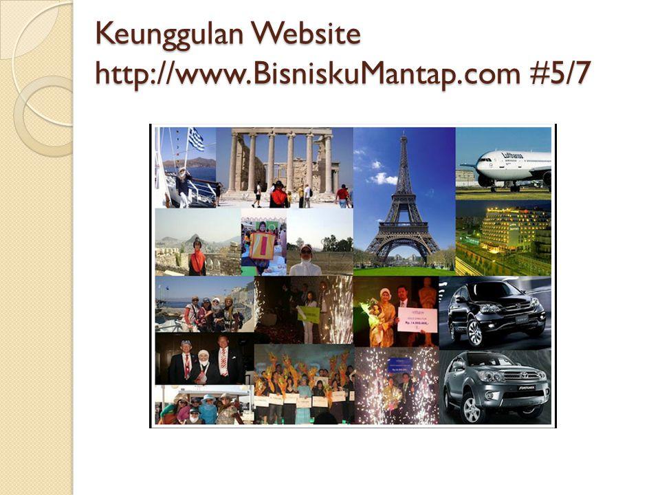 Keunggulan Website http://www.BisniskuMantap.com #5/7