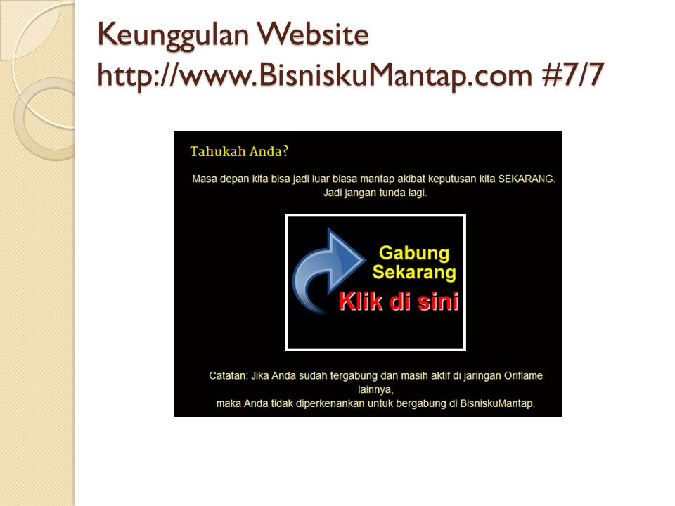 Keunggulan Website   #7/7