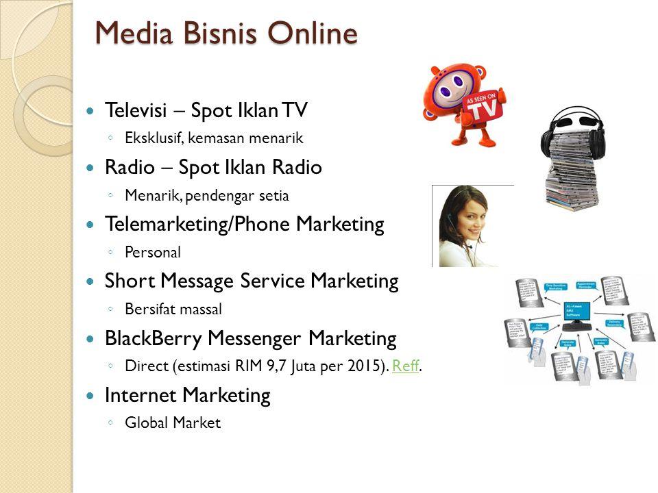 Media Bisnis Online Televisi – Spot Iklan TV Radio – Spot Iklan Radio