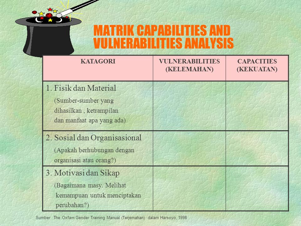 MATRIK CAPABILITIES AND VULNERABILITIES ANALYSIS