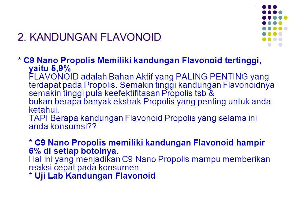 2. KANDUNGAN FLAVONOID