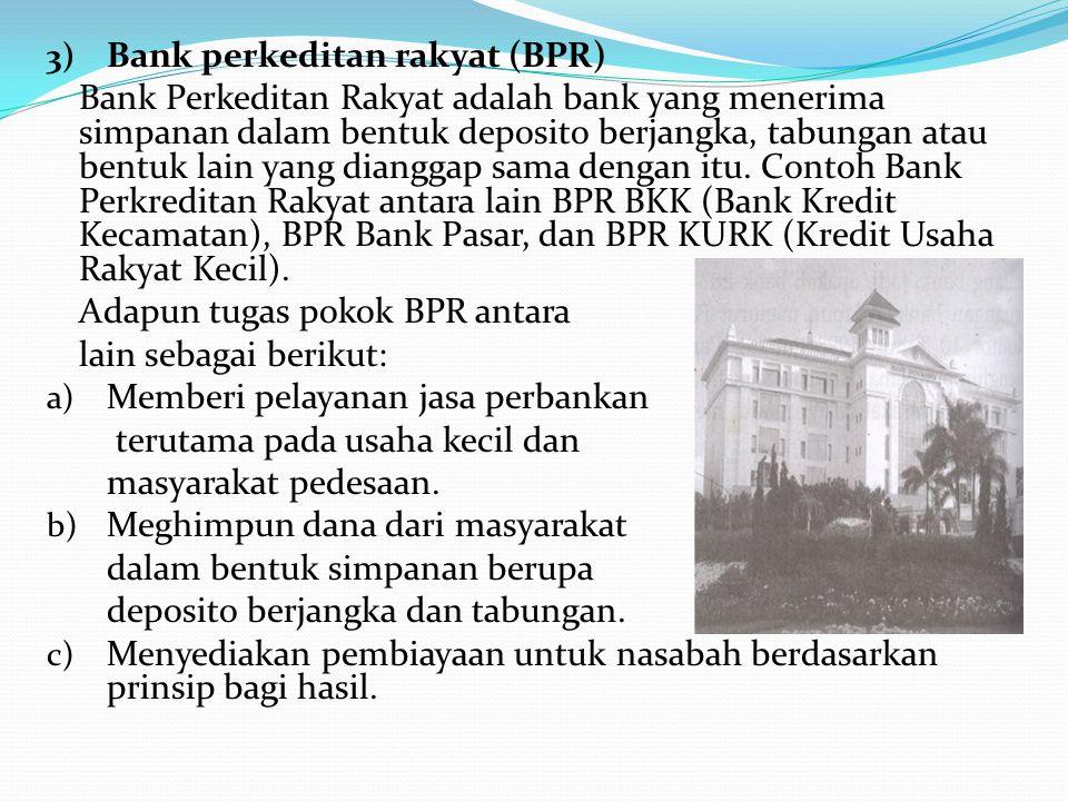 Bank perkeditan rakyat (BPR)