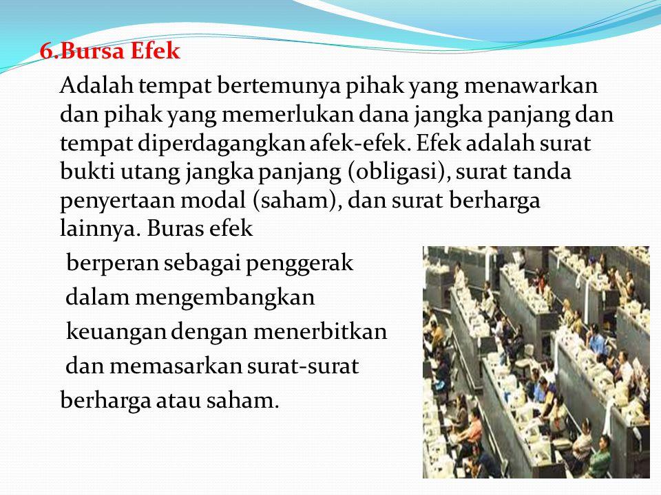 6.Bursa Efek