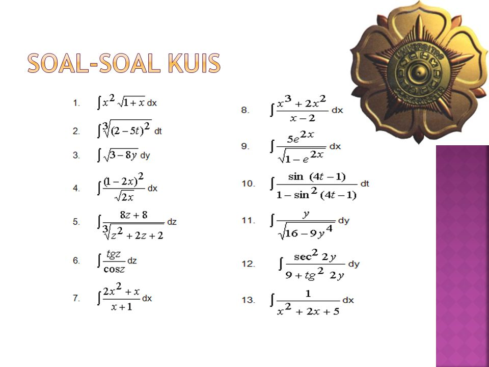 SOAL-SOAL KUIS