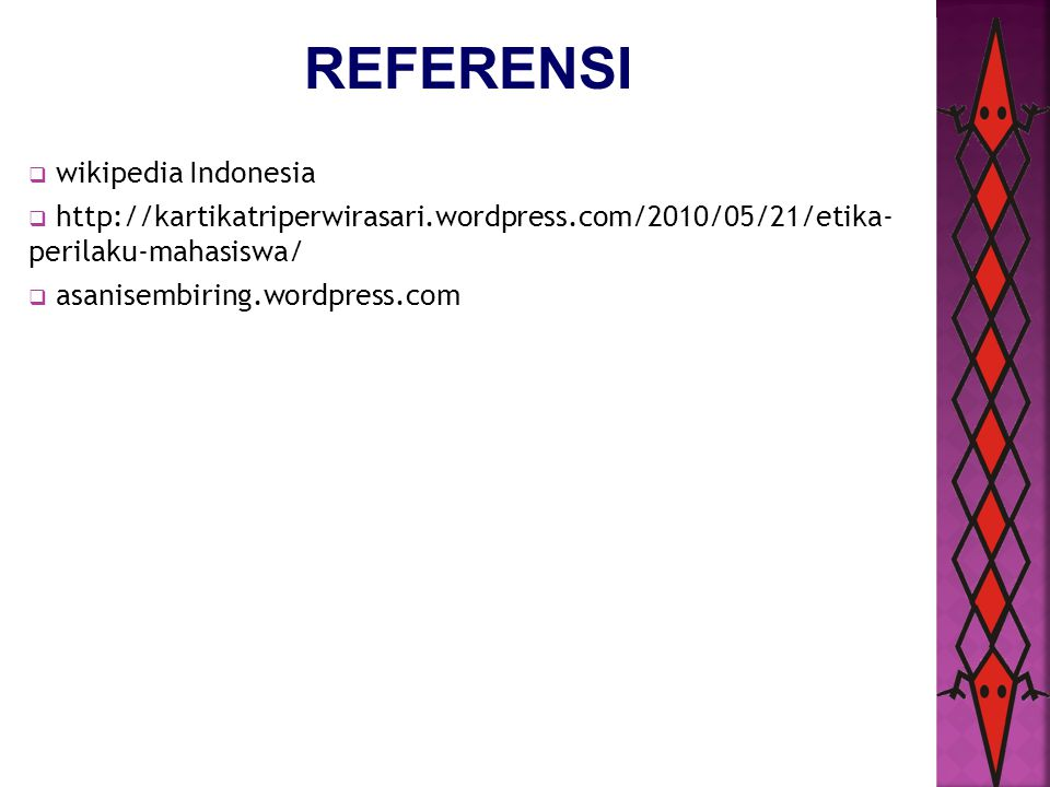 REFERENSI wikipedia Indonesia