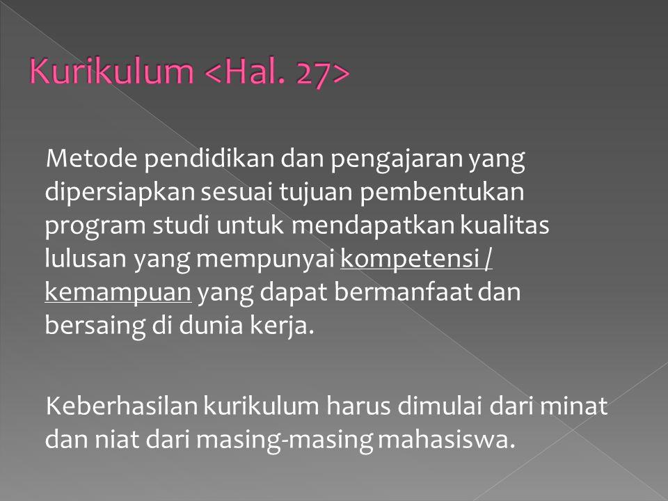 Kurikulum <Hal. 27>