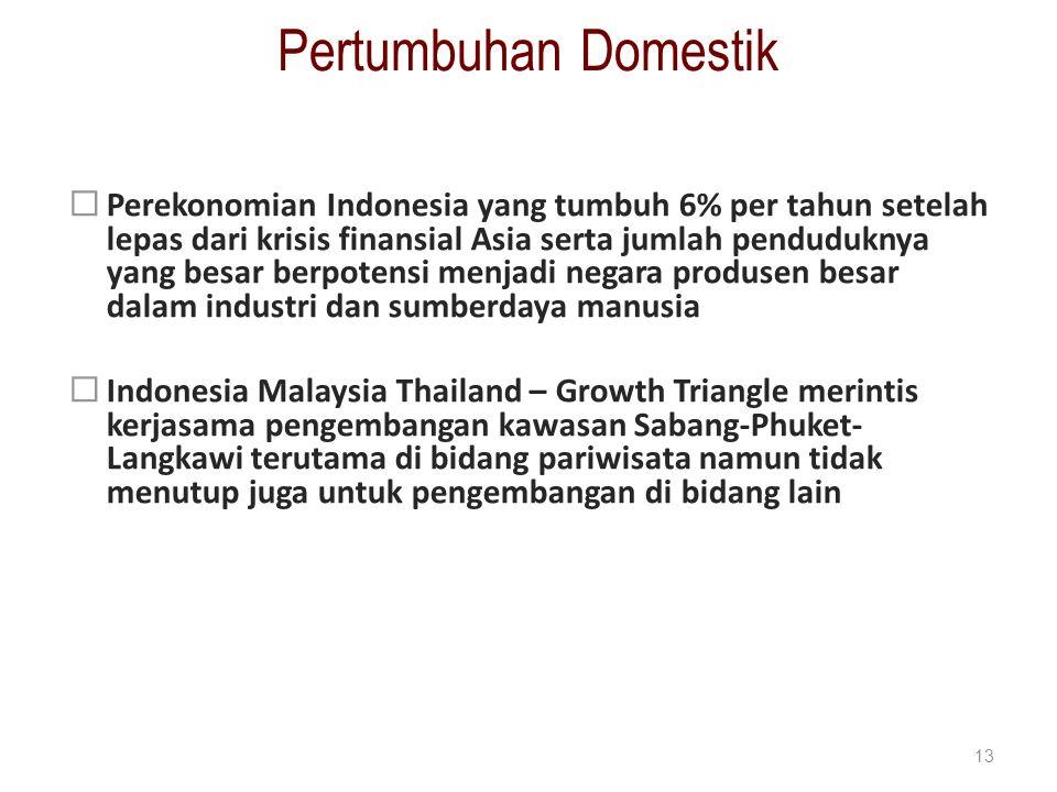 Pertumbuhan Domestik
