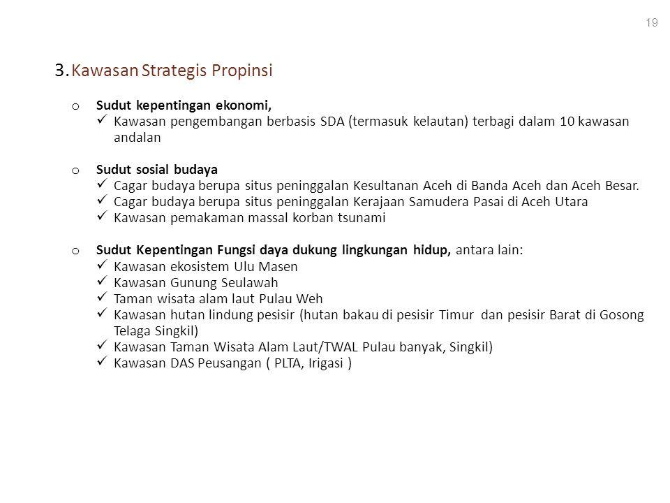 3. Kawasan Strategis Propinsi