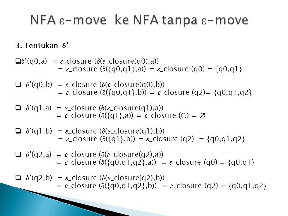 NFA -move ke NFA tanpa -move