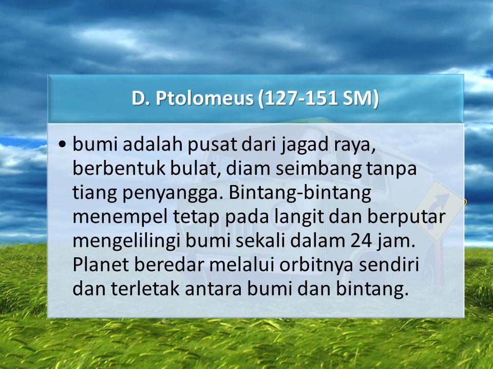 D. Ptolomeus (127-151 SM)