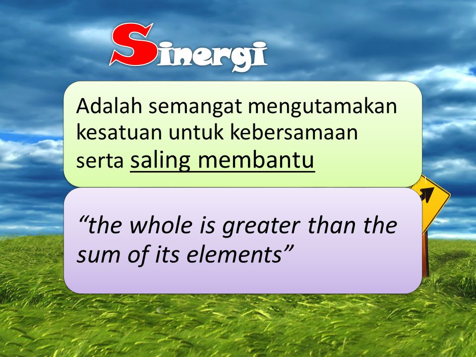 sinergi the whole is greater than the sum of its elements