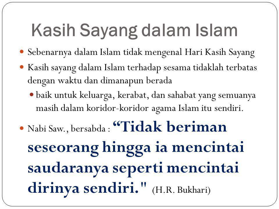 Kasih Sayang dalam Islam