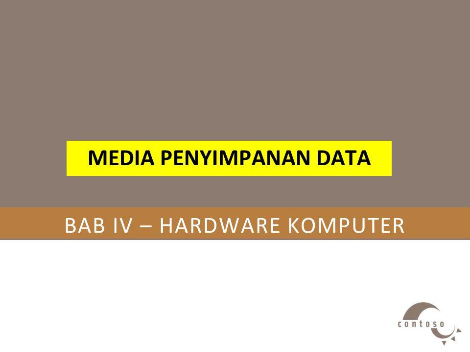 BAB IV – HARDWARE KOMPUTER