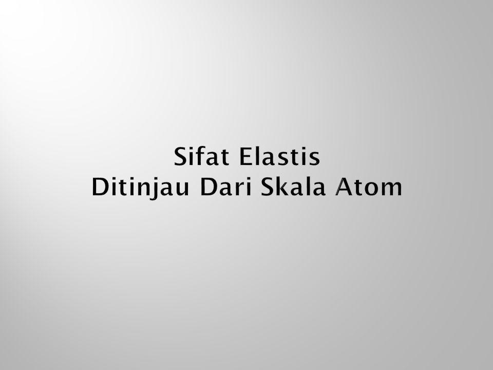 Sifat Elastis Ditinjau Dari Skala Atom