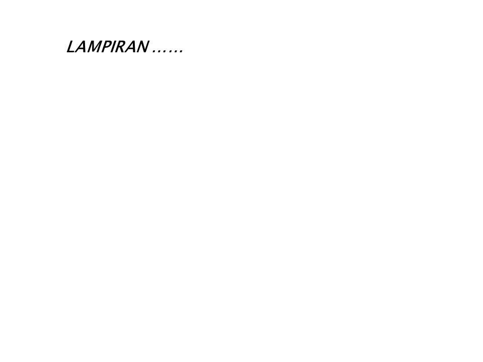 LAMPIRAN ……