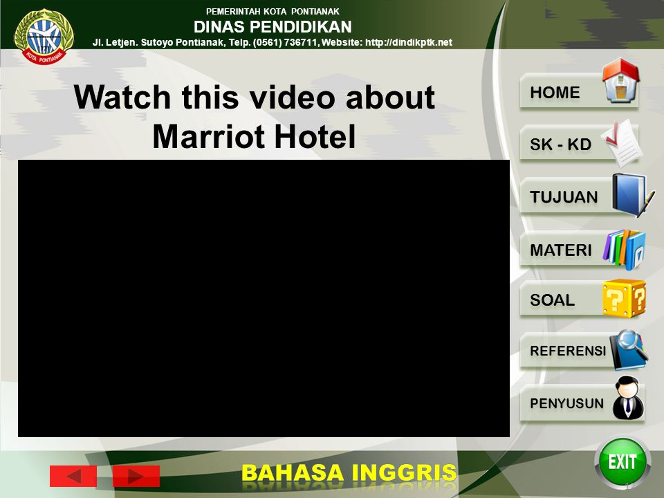 Watch this video about Marriot Hotel