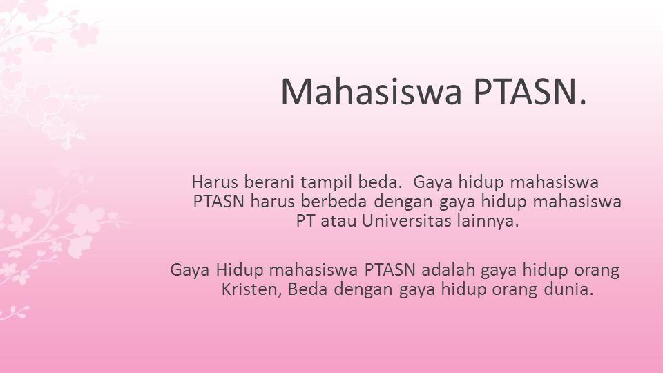 Mahasiswa PTASN.