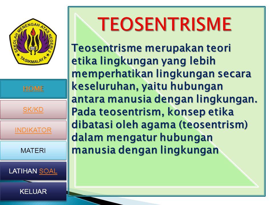 TEOSENTRISME