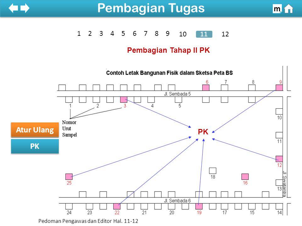 Pembagian Tugas m Atur Ulang Sketsa Peta PK 1 2 3 4 5 6 7 8 9 10 11 12